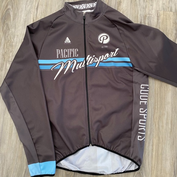 Pacific Multisport Winter Cycling Jersey by Code.